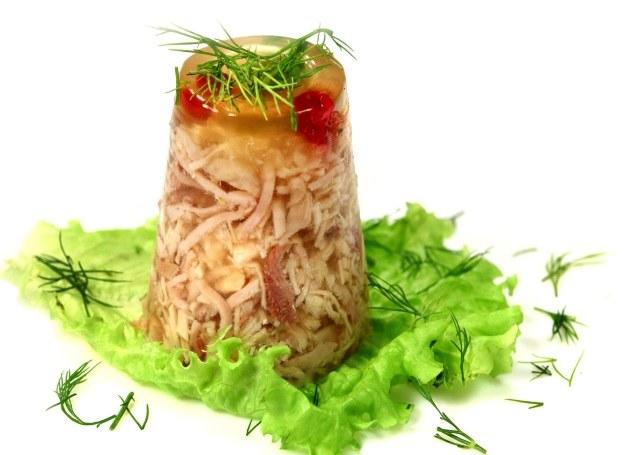 Galaretka mięsna z warzywami /123RF/PICSEL