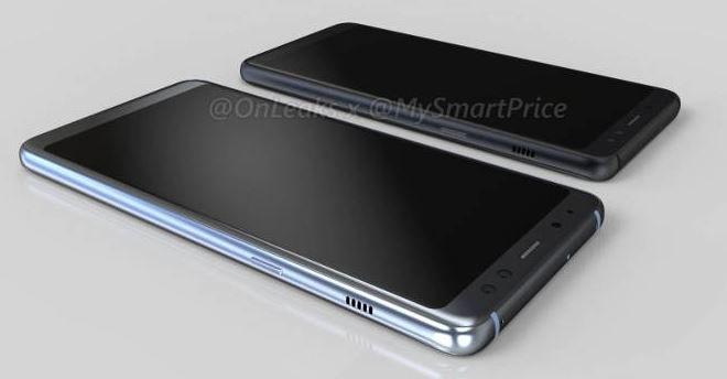 Galaxy A5 2018 będzie miał cienkie ramki - to już niemal pewne /OnLeaks /Internet