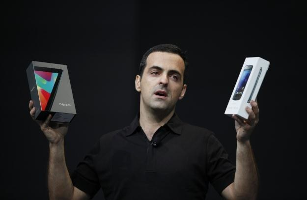 Galaxy Nexus i Nexus 7 - flagowe urządzenia Google'a /AFP
