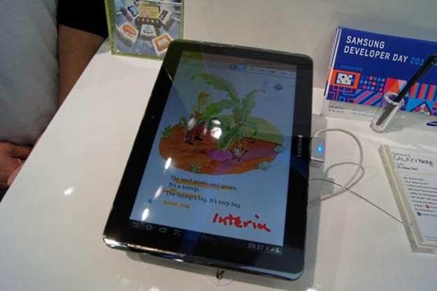 Galaxy Note 10.1 - połączenie smartfona z tabletem na sterydach. Jedna z możliwych ścieżek ewolucji /INTERIA.PL