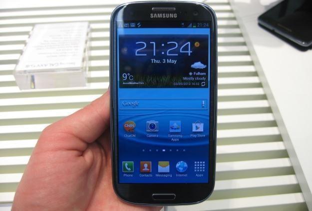 Galaxy S III jest jednym z najlepszych smartfonów na rynku /INTERIA.PL