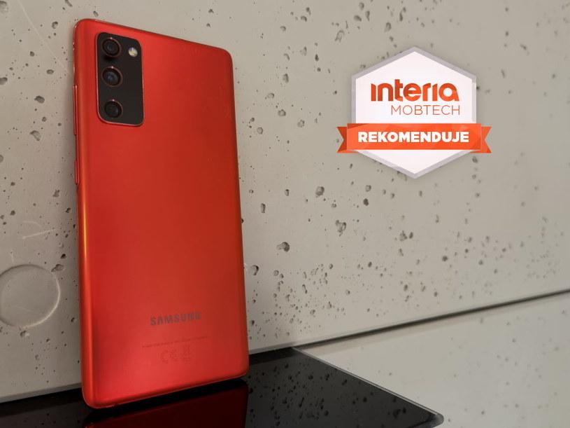 Galaxy S20 FE 5G otrzymuje REKOMENDACJĘ serwisu Interia Mobtech /INTERIA.PL