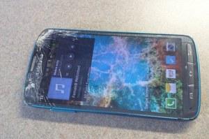 Galaxy S4 Active wpadł pod kosiarkę. Jak sobie poradził?