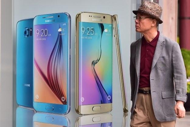 Galaxy S6 rozczaruje? /AFP