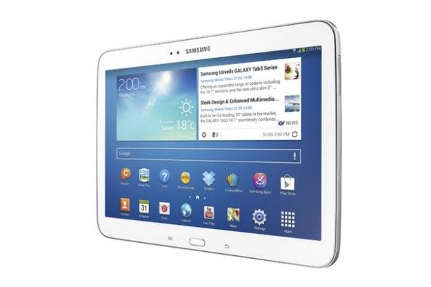 Galaxy Tab 3 10.1 - nowa generacja tabletów Samsunga /materiały prasowe