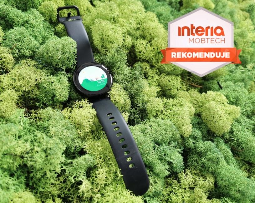 Galaxy Watch Active  otrzymuje rekomendację serwisu Mobtech Interia /INTERIA.PL