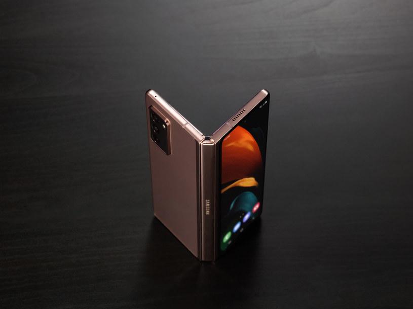 Galaxy Z Fold2 5G /materiały prasowe