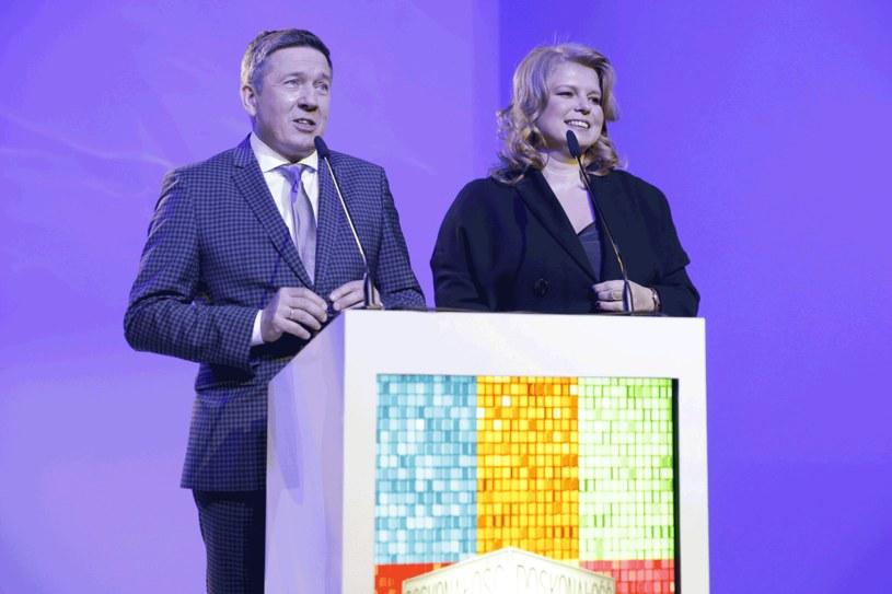 Galę poprowadzili Jacek Szmidt i Joanna Nojszewska / Piotr Podlewski /AKPA