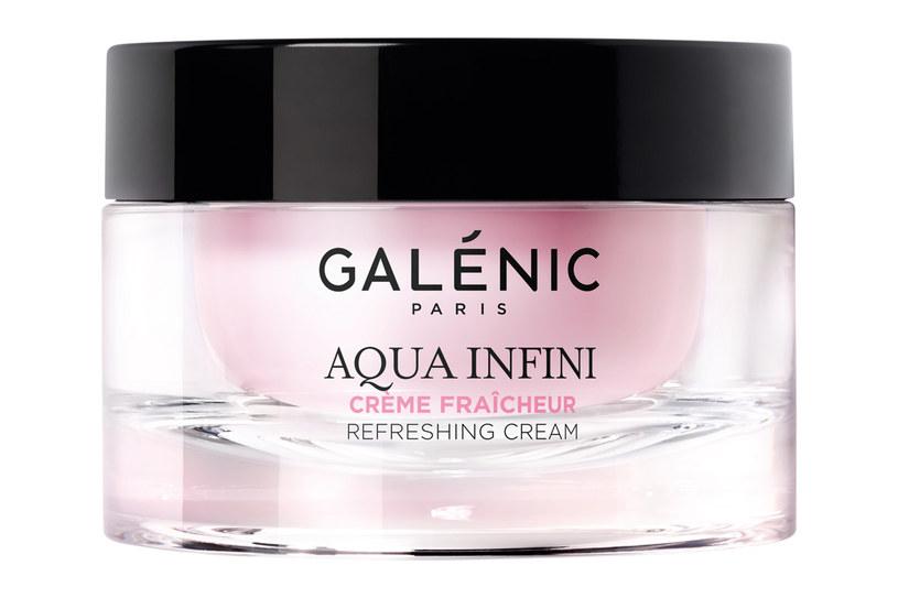 Galénic Aqua Infini Krem Nawilżający /materiały prasowe
