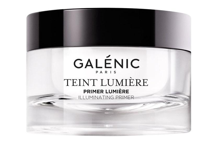 Galenic: Rozświetlający Primer Udoskonalająca Baza pod Makijaż Teint Lumière /materiały prasowe
