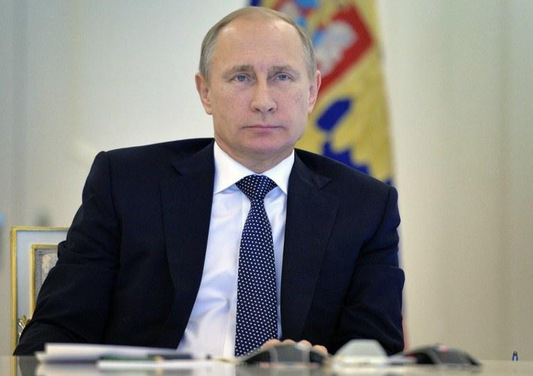 Galeotti ocenił, że błędem jest sądzić, że Rosjanie mają jakąś wielką strategię, na zdj. Władimir Putin, fot. ilustracyjna /ALEXEY DRUZHININ / RIA NOVOSTI /AFP