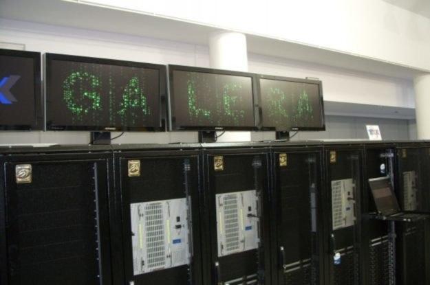 Galera z bliska - INTERIA.PL dwa lata temu towarzyszyła uruchomieniu tego polskiego superkomputera /INTERIA.PL