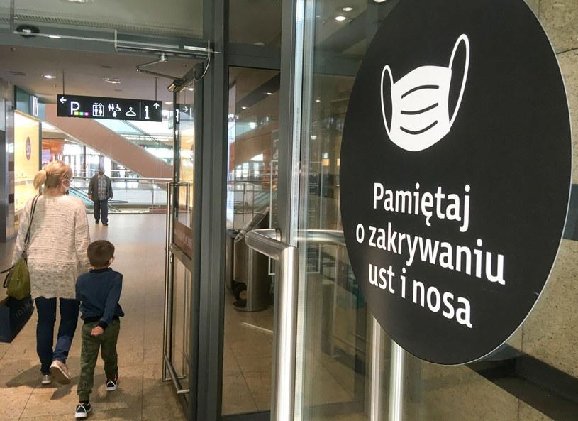 Galeria handlowa w Łodzi; zdj. ilustracyjne /Piotr Kamionka /Reporter