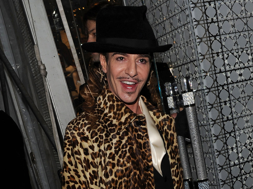 Galliano dodał  do stylu Diora podtekst pełen seksualności   /Getty Images/Flash Press Media