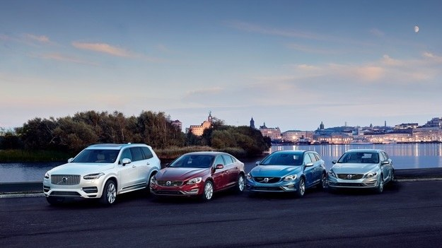 Gama samochodów hybrydowych Volvo /Volvo