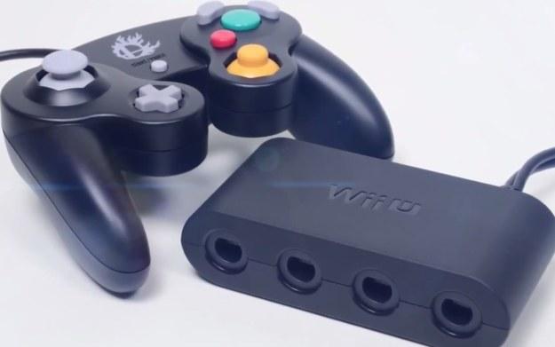 Gamecube - fragment zwiastunu adaptera do konsoli Wii U - materiał pochodzi z serwisu youtube.com /materiały prasowe