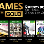 Games with Gold: Oferta na sierpień'18