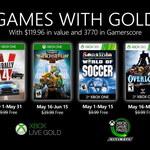 Games with Gold - oferta Xbox One i X360 na maj