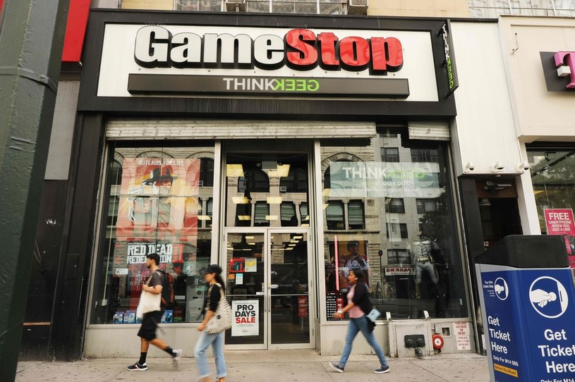 GameStop /AFP