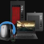 Gamingowe akcesoria w prezencie do komputerów Lenovo Legion