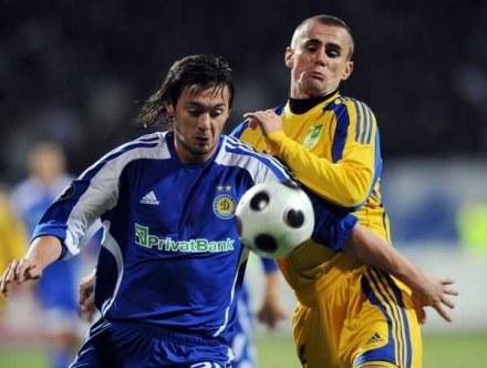 Gancarczyk (z prawej) zagra w Lechu Poznań /AFP