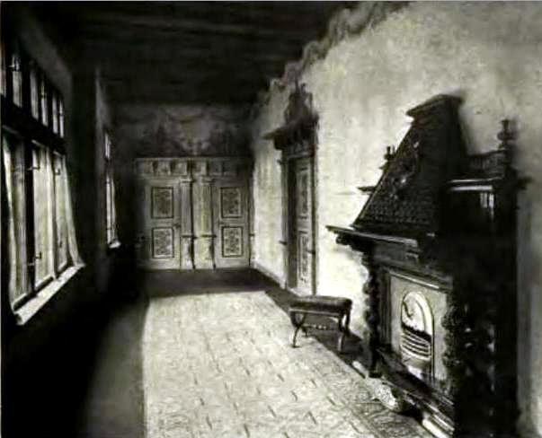 """Ganek zwany """"ścieżką czarownic"""" w 1909 roku, zbiory autora. /"""