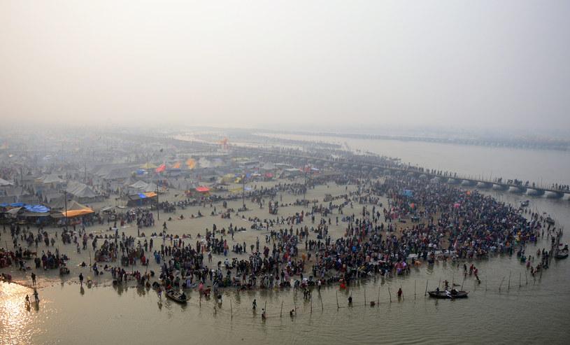 """Ganges """"daje życie"""" aż miliardowi osób /AFP"""