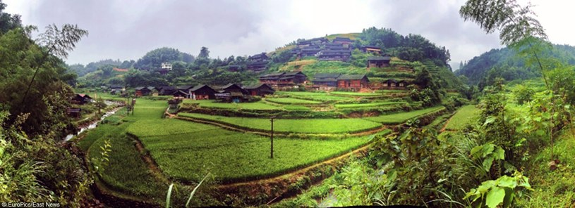 Ganxi Dong - ukryta w górach wioska kung-fu /East News