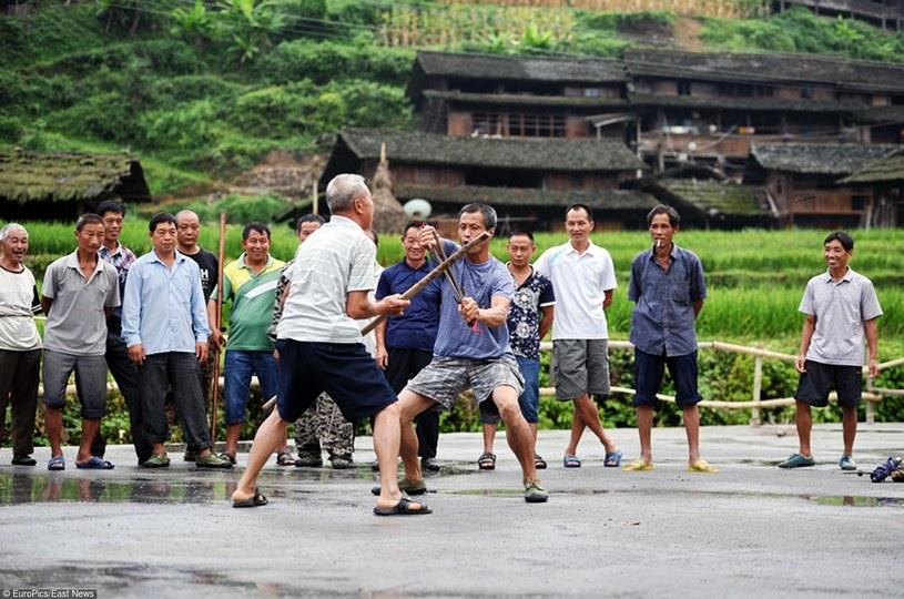 Ganxi Dong - wspólny trening starszyzny /East News