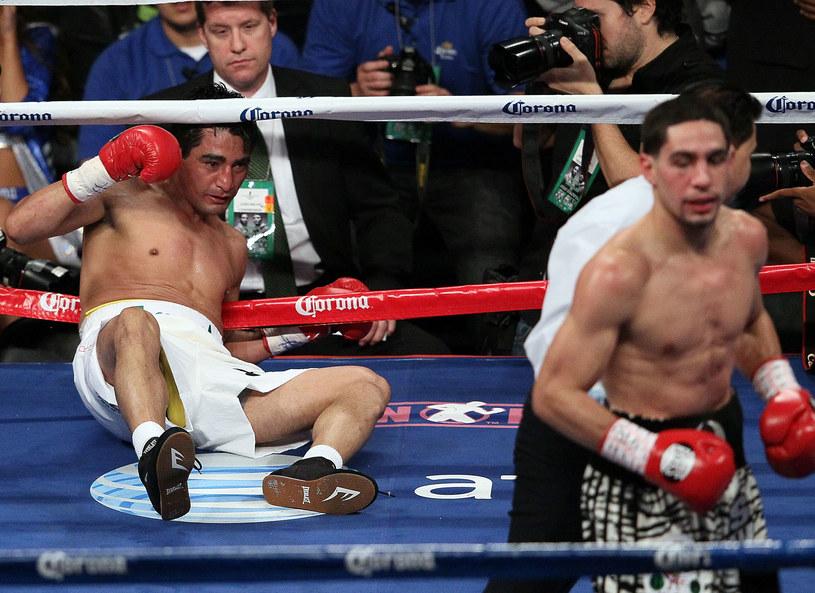 Garcia znokautował Moralesa /AFP