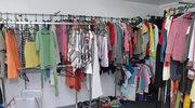Garderoba na kółkach