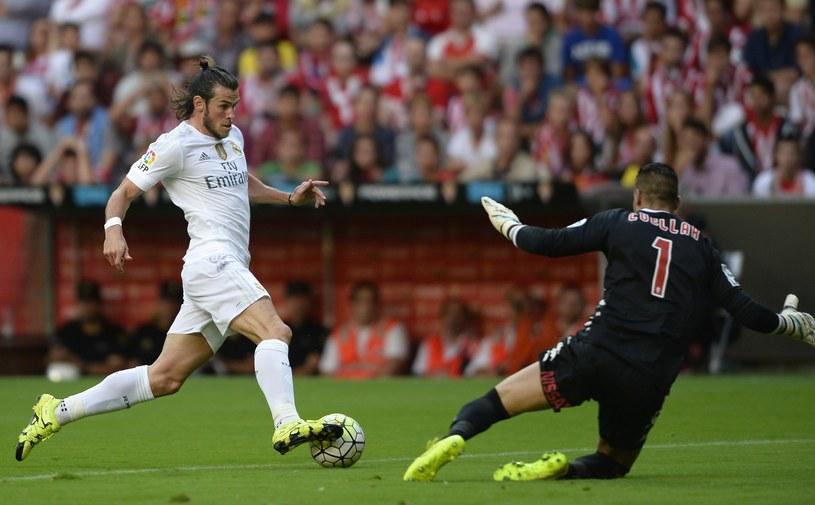 Gareth Bale był w niedzielny wieczór bardzo aktywny na stadionie beniaminka /AFP