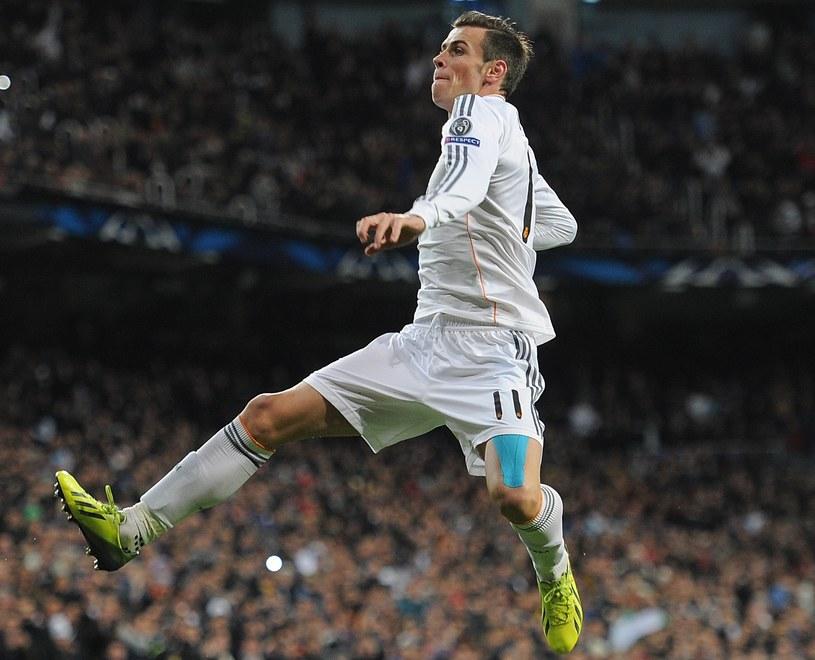 Gareth Bale cieszy się po strzeleniu pięknego gola /Denis Doyle /Getty Images