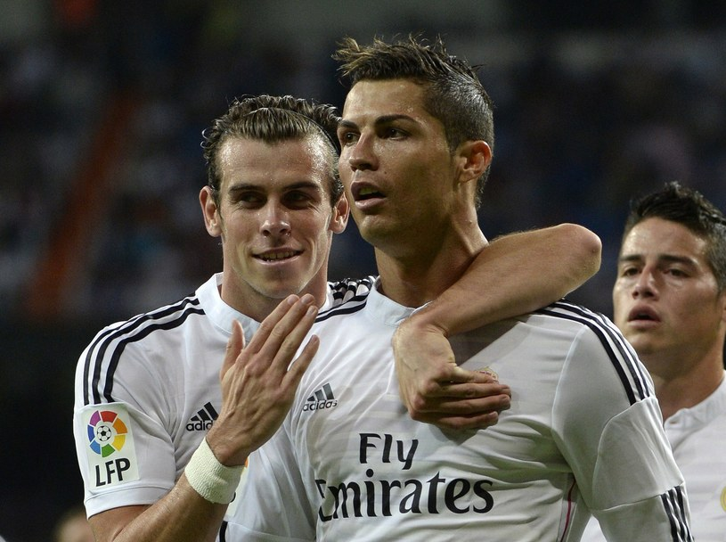 Gareth Bale i Cristiano Ronaldo /AFP