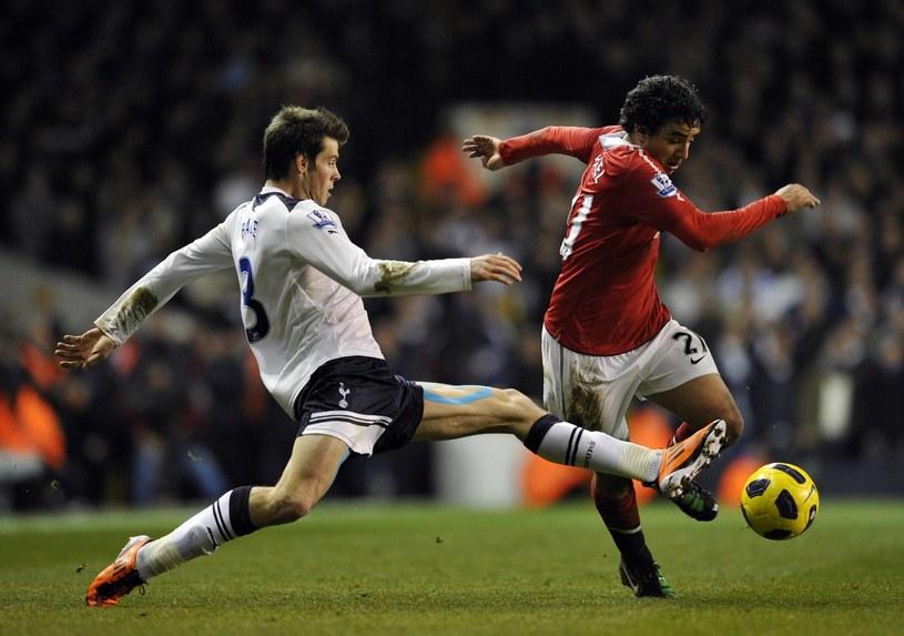 Gareth Bale i Rafael da Silva w lutym zdobyli piękne bramki w Premier League /AFP