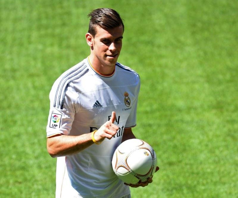 Gareth Bale już w koszulce Realu Madryt /AFP