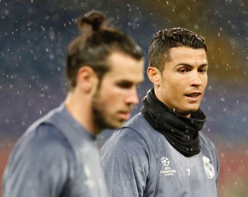 Gareth Bale (na pierwszym planie) i Cristiano Ronaldo /AFP