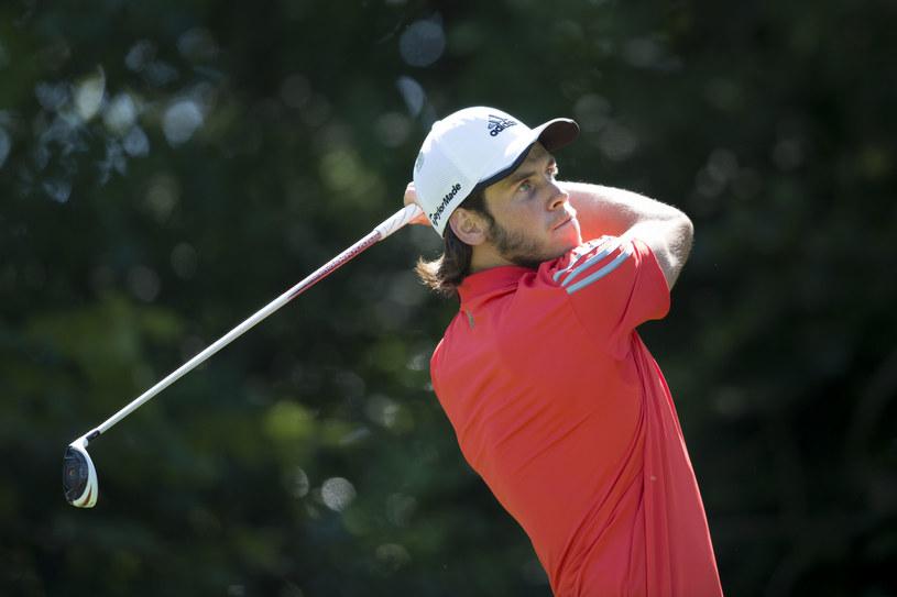 Gareth Bale podczas golfowego turnieju / Matthew Horwood /Getty Images
