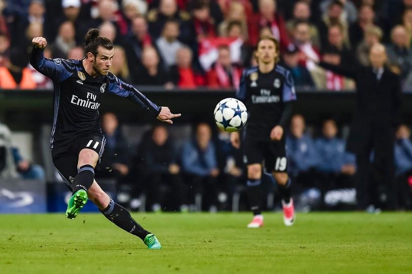 Gareth Bale podczas pierwszego meczu obu zespołów w Monachium /AFP