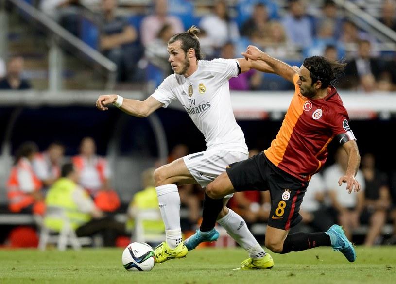 Gareth Bale (w białym stroju) /AFP
