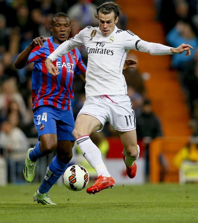 Gareth Bale w meczu z Levante /PAP/EPA
