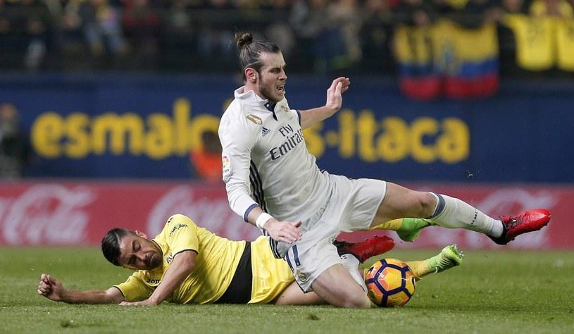 Gareth Bale w meczu z Villarrealem /MIGUEL ANGEL POLO /PAP/EPA