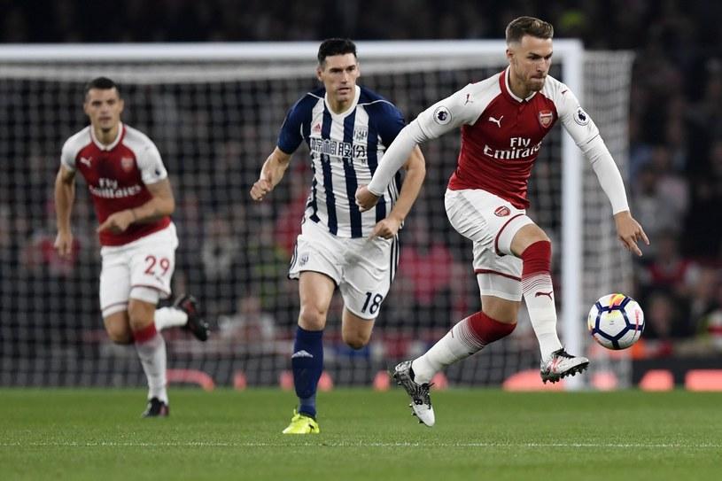 Gareth Barry w meczu z Arsenalem /PAP/EPA
