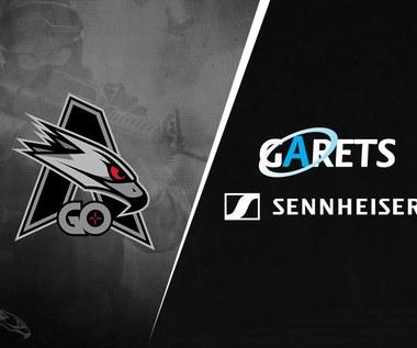 "Garets, dystrybutor marki Sennheiser w Polsce został ""Partnerem Technologicznym"" AGO Esports"