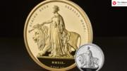 Gargantuiczna moneta o nominale 5 tys. funtów. Waży więcej niż noworodek!