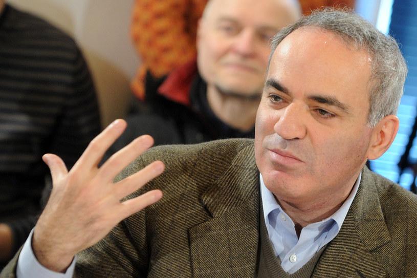 Gari Kasparow /Kirill Kudryavtsev /AFP