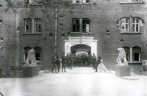 Garnizon 19 Pułku Piechoty Odsieczy Lwowa, w którym służył Jerzy Konrad Maciejewski (fot. z archiwum Izy Wojciechowskiej) /Agencja FORUM