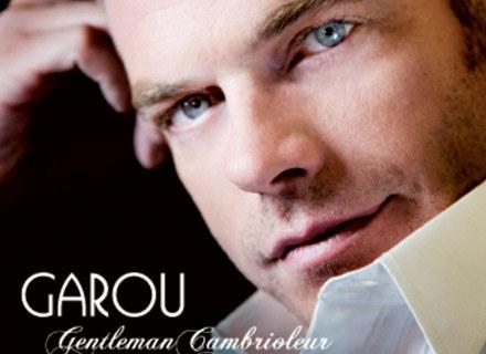 "Garou na okładce płyty ""Gentleman Cambrioleur"" /"