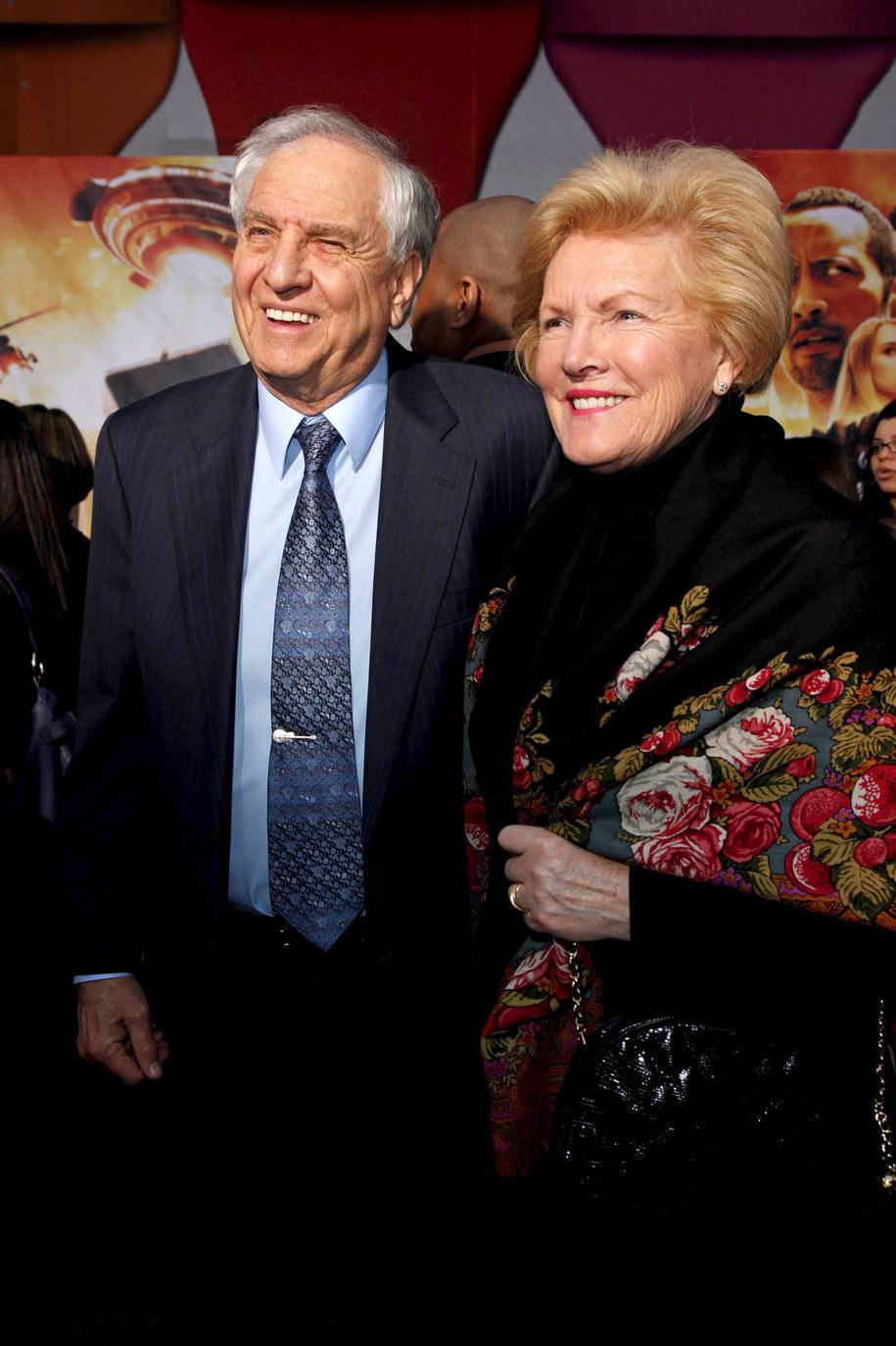 Garry Marshall z żoną Barbarą /NINA PROMMER    /PAP/EPA