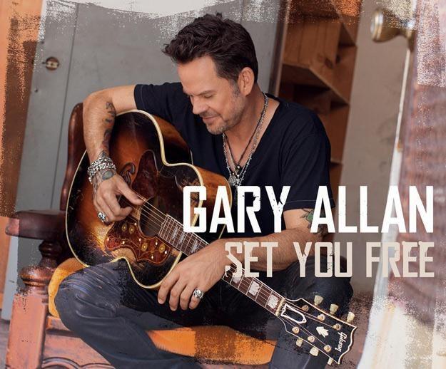 "Gary Allan na okładce albumu ""Set You Free"" /"